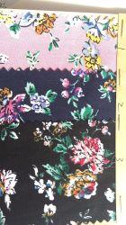 Stock listo 100 Impreso de algodón tejido de prendas textiles