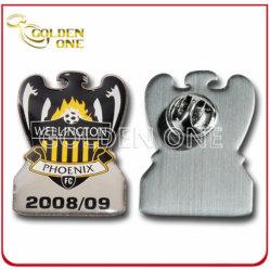 Custom la impresión offset y resina epoxi insignia de solapa