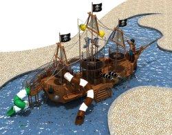 Barco Pirata de madera maciza