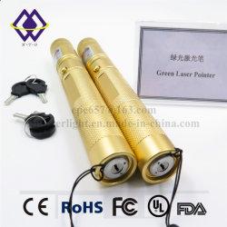 緑のポインター安いレーザーのペンを満たす中国の製造業者100MWの高い発電の無線電信