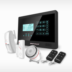 Inalámbrica GSM inteligente sistema de alarma hogar alarma antirrobo/Wireless