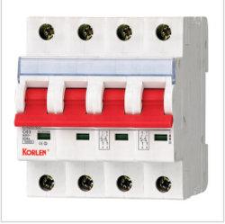 De hoog-breekt MiniatuurStroomonderbreker van de Capaciteit Knb6 (L7 Reeks) MCB met het CITIZENS BAND van Ce S 1p~4p 10ka 50Hz