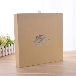 De aangepaste Verpakkende Zak van het Boek van het Vakje van het Document van de Gift Verpakkende