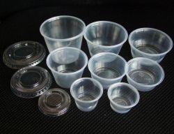De plastic Plastic Kop van de Kop van de Saus van het Kruiden van de Kop van het Gedeelte Beschikbare