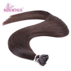 K. S парики двойной новоприбывших обращено индийских волос I Кончик волос кератин волос добавочный номер