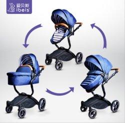 En1888 bebé cochecito 3 en 1 Travel System cochecito de bebé con el bebé silla de coche