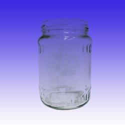 Bol en verre de 720ml d'aliments pour bouteille de boisson de concombre saumuré Sauce bouteille alimentaire Jar