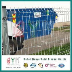 La construction et l'industrie revêtement PVC clôture en treillis métallique soudé