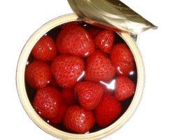 820g in Büchsen konservierte Erdbeere im Sirup