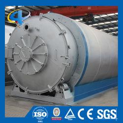 Fábrica de reciclagem de pneus usados para obter o Óleo Combustível