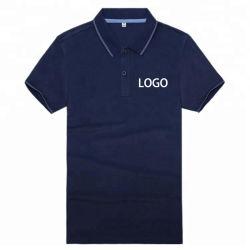 Esportes de alta qualidade personalizada simples de impressão 100% algodão Golf Mens Polo camiseta com o seu logotipo