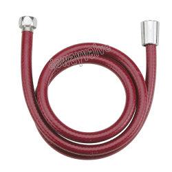 Rouge flexible en PVC rigide du tuyau flexible de douche
