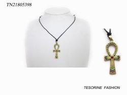 سعر الجملة الرخيصة التكلفة عقد المجوهرات تصميم الصليب