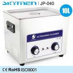 Металлические детали/серебряные изделия ультразвукового очистителя рядков с реле погружных подогревателей 10L