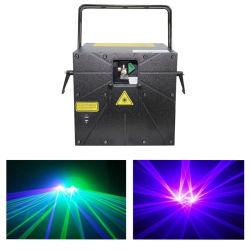 Stade professionnel rideau de pluie Disco Laser vert