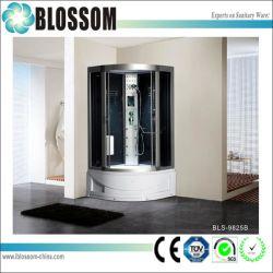Precio competitivo de masaje de cristal de cabina de ducha completo (BLS-9825B)