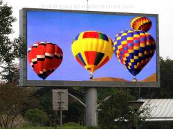شاشة عرض خارجية ثابتة RGB LED P10 تلفزيون LED بوضوح عال كامل
