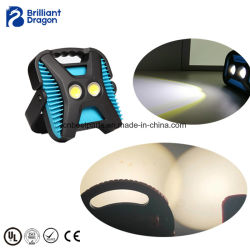 Luz estroboscópica de color dual 3000/6500K IP65 Luz LED de trabajo