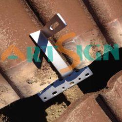 400W 800W 1000W het Zonne het Opzetten Dak van de Tegel van het Systeem van de Uitrustingen van het Aluminium