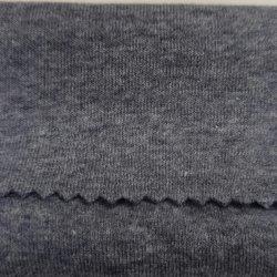 68% хлопок 27% полиэстер 5% спандекс Cationic CVC растянуть 1*1 ребристую войлочную ленту вязки манжеты кольца свитер одежды ткань