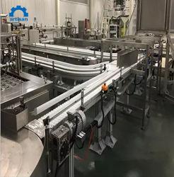 Eco Friendly Industrie pharmaceutique des bouteilles de plastique souple de transfert de convoyeur à chaîne