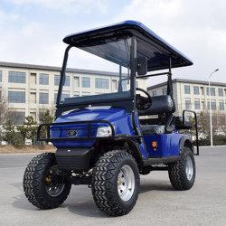Azul 4 plazas off road de alta calidad de la Utilidad de alimentación por batería eléctrica Mini aeropuerto coches de Golf Cart con certificado CE