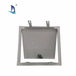 200x200mm de tamaño pequeño panel de acceso de acero con bloqueo de leva