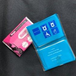 Pack Flushable Traval portátil Inodoro cubiertas de papel desechables