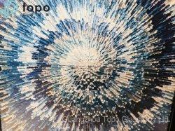 Resumo de vidro de parede Art Pintura de parede decorativos Imagem de vidro (MR-YB6-2020UM)