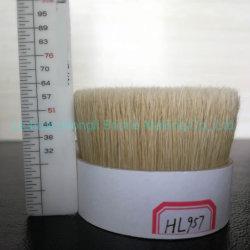 90% de alta qualidade tops de cerdas fervida branca de 57 mm