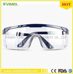 Occhiali di protezione protettivi degli occhiali di protezione dell'occhio di vetro protettivi antinebbia dentali
