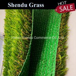 Forme en U de haute qualité de l'herbe jardin Gazon artificiel d'aménagement paysager 35mm fils de l'herbe verte pour la maison
