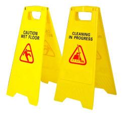 Bedruckbarer nasser Fußboden-Verkehrszeichen-Großhandelspreis
