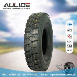 10.00R20 Todos radial de aço dos pneus do veículo,AR AULICE535 TBR/OTR fábrica de pneus,mining pneu do veículo,Super sobrecarregar a capacidade, excelente aderência de terra,capacidade de subir