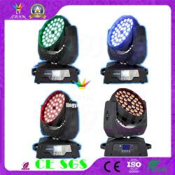 Des Fachmann-36X12W Stadiums-Licht Wäsche-bewegliches des Kopf-LED