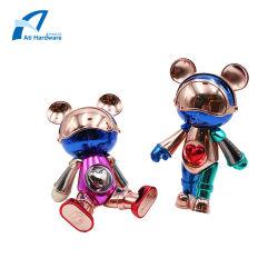 カスタム一義的なデザイン手およびフィートは金属のクラフトのおもちゃのロボットホーム装飾を回すことができる