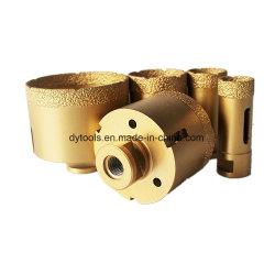 Soldado de Sierras de corona de diamantes de vacío de perforación para la perforación de cerámica porcelana material de piedra