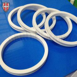 Hoge Precisie die Ring van de Isolatie van het Zirconiumdioxyde de Ceramische machinaal bewerken