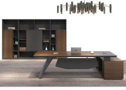 Nouvelles de la mélamine de meubles en bois forme L/Bureau exécutif Table en bois (A-3224)