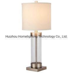 LT-4553 モダンなホームガラスコラムテーブルランプ(リビングルーム用) ベッドルーム