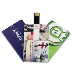 scheda stampabile di Pendrive di chiamata del USB della plastica della scheda del USB di marchio su ordinazione di 128MB 256MB