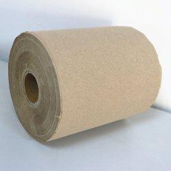 L'absorbant fine texture main serviette de papier en rouleau