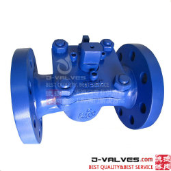 ANSI 150lb 5인치 3방향 유기산/강산/강한 산화제 스테인리스 스틸 플랜지 PTFE 준라이닝 플루오린 플러그 밸브 공압 작동