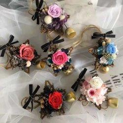 Retrovisor ficarão penduradas Flower artesanal artesanato de automóveis com preservadas Flores Real
