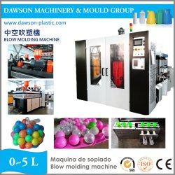 Máquina de moldeo por soplado extrusión automático de bola de plástico de HDPE