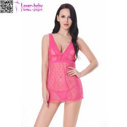 2017 новый дизайн нижнее белье Hot Sexy Girl Babydoll L28045-5 для взрослых