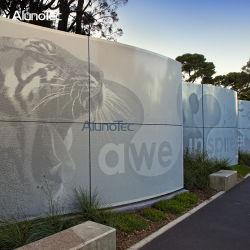 외부 옥외 알루미늄 금속 장식적인 외벽 클래딩