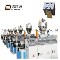 65/132 extrusionadora de husillo cónico doble junta de plástico/panel/Perfil de extrusión