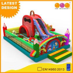 Schoolbag Fun City Diapositiva inflable Parque de Atracciones (AQ01798)