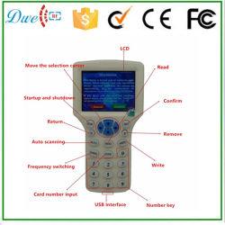 LCD表示が付いている13.56MHz ICのコピアーはコピーの暗号化Mfのカードである場合もある